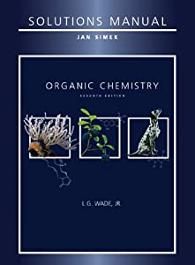 organic chemistry wade 7th edition solution manual pdf