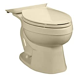 American Standard 3892.016.021 Titan Pro Right Height Elongated Toilet Bowl, Bone (Bowl Only)