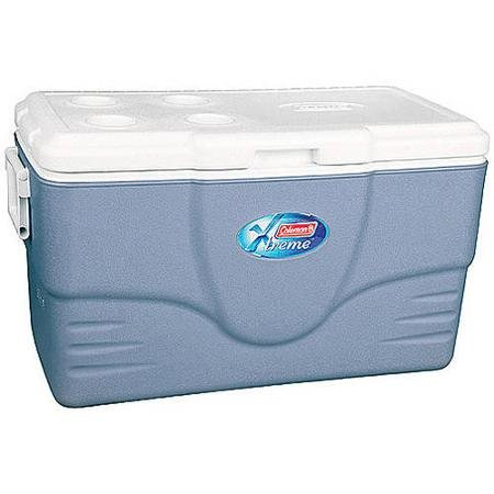 Coleman 70-quart Xtreme Cooler with Hinged Lid with Four Built-in Beverage Holders (Coleman Ice Less Cooler compare prices)
