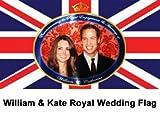 Prince William & Kate Royal Wedding Flag