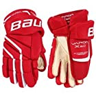 Bauer Vapor X60 Junior Hockey Gloves Red Size 10