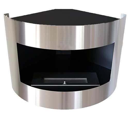 diana deluxe eckkamin bioethanol kamin test. Black Bedroom Furniture Sets. Home Design Ideas