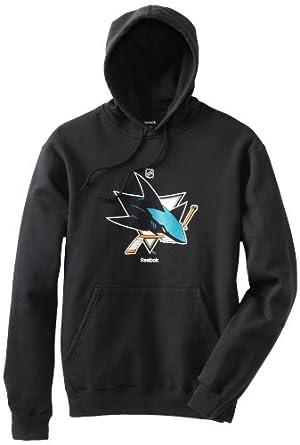 NHL San Jose Sharks Primary Logo Hoodie, Large
