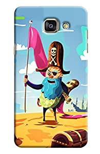 Clarks Printed Designer Back Cover For Samsung Galaxy A7 2016