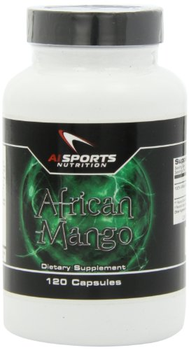 Ai Sports Nutrition African Mango Capsules, 120 Count