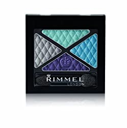 Rimmel London Glam Eyes Quad Eye Shadow, State of Grace, 4.2g