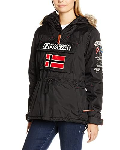 Geographical Norway Jacke Building schwarz