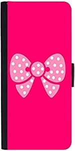 Snoogg Cute Bow Designer Protective Phone Flip Case Cover For Apple Iphone 6S
