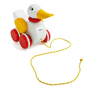 BRIO BRI-30323 Wooden Pull Along Duck