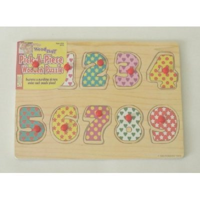 Pick-A-Piece Wooden Puzzle Wood Tuff