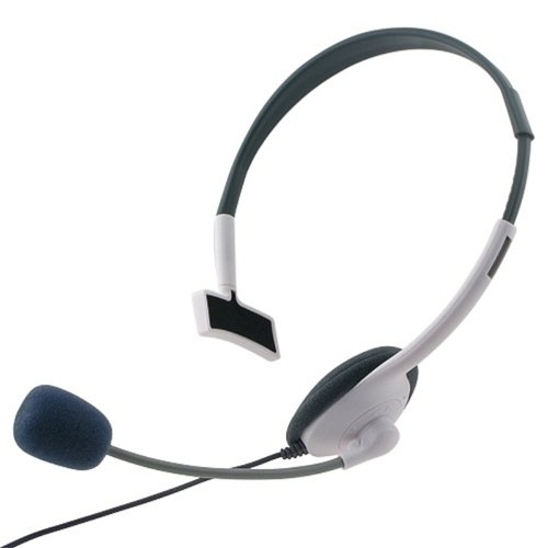 Eforcity® Live Headset+Mic Compatible With Xbox 360 / Xbox 360 Slimwireless Controller M