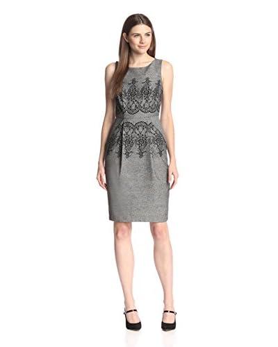 Eva Franco Women's Cato Lace Printed Sheath Dress