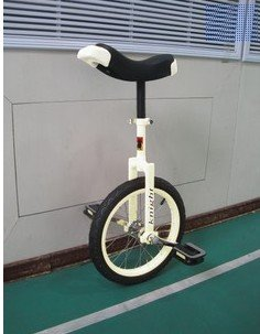 16 inches discoverer dream Taiwan knight professional competitive unicycle(white)