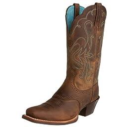Ariat Women\'s Legend Western Cowboy Boot, Distressed Brown, 7 M US