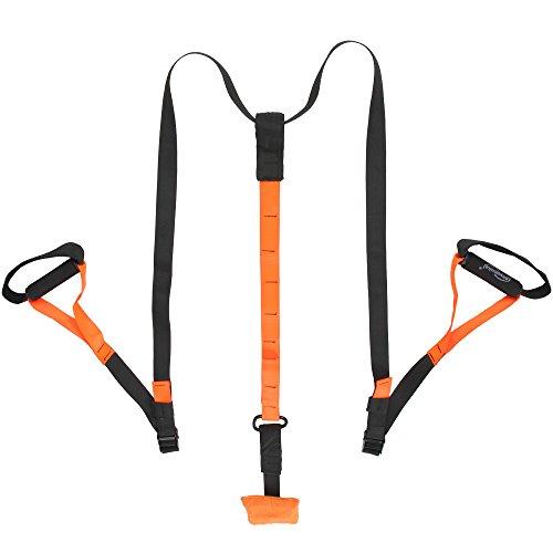 Physionics® Sling-Trainer für Einsteiger und Fortgeschrittene Schlingentrainer inkl. Suspension Trainer