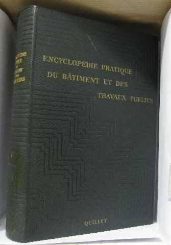 Encyclopédie pratique du batiment et des travaux publics tome 1
