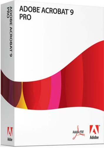 Adobe Acrobat 9 Pro, Upgrade from Adobe Acrobat 6, 7, 8 or 9 Standard (Mac)