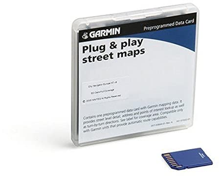 Garmin City Navigator NT SD Card for Garmin GPS Units