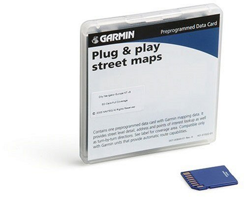 Units Navigator  Card  Garmin City