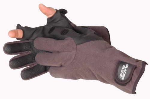 Glacier Glove Windproof Fleece Hybrid Slit Finger Glove