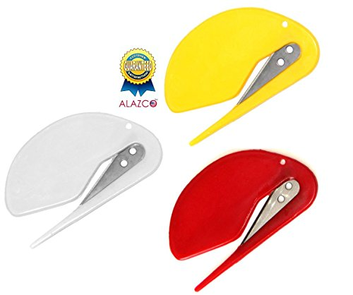 Alazco Value Pack 3pc World S Most Efficient Letter Opener