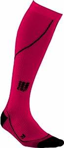 CEP Women's  Compression Run Progressive Sock, Small (9.5-12-Inch Calf), Red