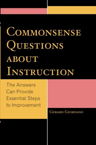 Commonsense Questions about Instruction: The Answers Can Provide Essential Steps to Improvement