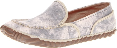 Sorel Women's Tremblant Canvas Moccasin,Light Grey,5 M US