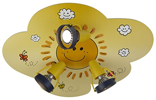 Niermann Standby Ceiling Lamp, Cloud with Sun
