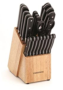 Farberware 22-Piece Classic Forged Cutlery Set
