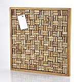 Wine Enthusiast Wine Cork Bulletin Board Kit, kitchen accessories