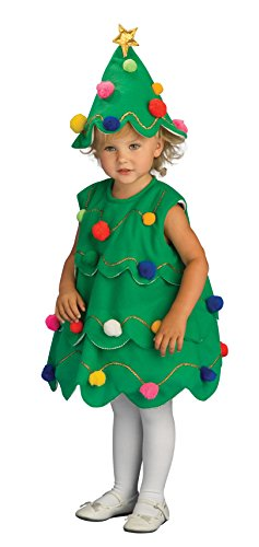 Rubie's Costume Lil Xmas Tree Child Costume, Toddler