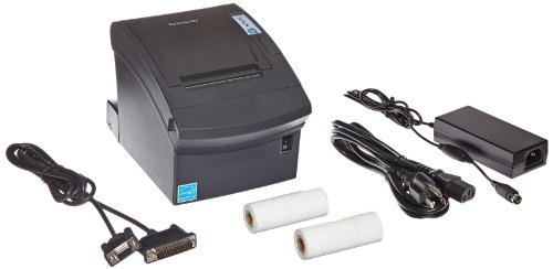 Best Review Of Bixolon SRP-350PLUSII Monochrome Thermal Receipt Printer with Serial and USB Interface, 250 mm/s Print Speed, 180 dpi Print Resolution, 72 mm Print Width, 24V DC, Black