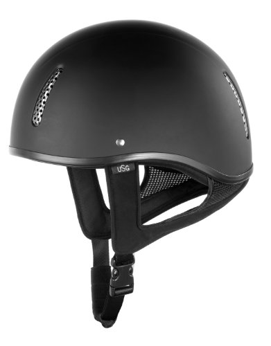 Usg Riding Helmet Military, Size 60, Black