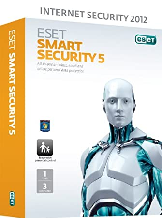 ESET Smart Security V5 3 User 1 Year (PC)