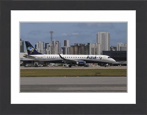 framed-print-of-embraer-190-from-azul-brazilian-airlines-taken-at-recife-airport-brazil