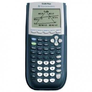Texas Instruments TI84PLUS - Graphing Calculator USB technology (Our ref: TI84PLUS)