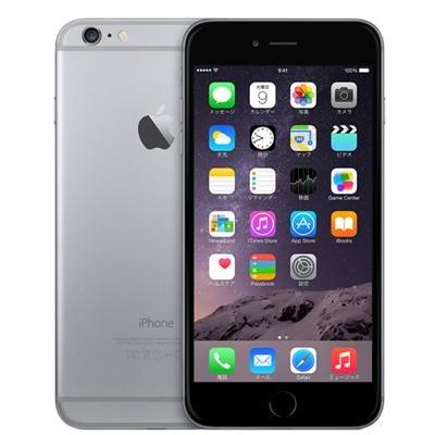 Apple iPhone6 Plus 64GB A1524 スペースグレイ [MGAH2J/A]国内版 SIMフリー