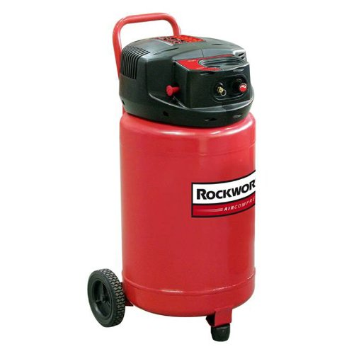 Rockworth RW1820F 20-Gallon Factory Reconditioned Portable Electric Shop Air Compressor