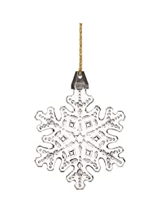 Marquis by Waterford 2013 Christmas Tree Snowflake Ornament, 3.5-Inch