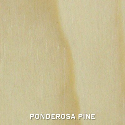 Wine Racks America Ponderosa Pine 3 Column 8 Row Display Top Kit. Unstained