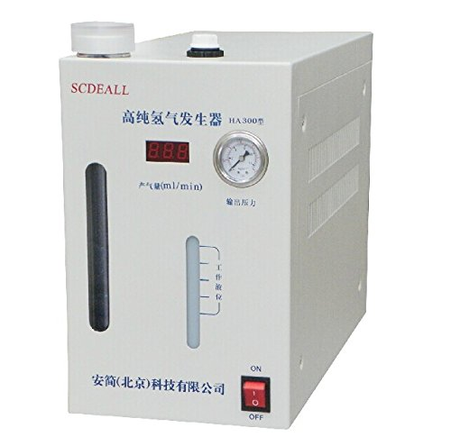 SCDEALL High purity Hydrogen gas generator H2: 0-300ml 110 or 220V