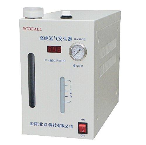 High purity Hydrogen gas generator H2: 0-300ml 110 or 220V SCDEALL B00LFQ39B0