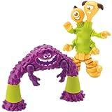 Imaginext Disney Pixar Monsters University Art, Terry, and Terri