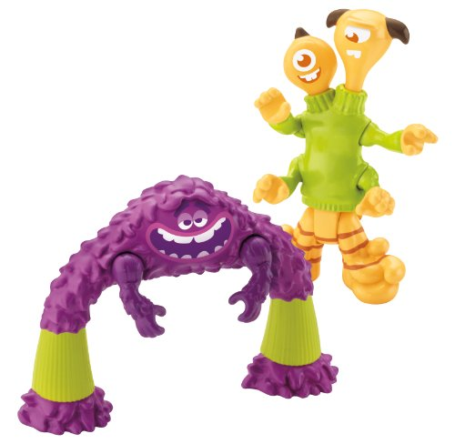 Imaginext Disney Pixar Monsters University Art, Terry, and Terri