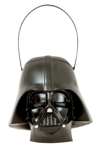 Rubies Darth Vader Head Trick Or Treat Pail