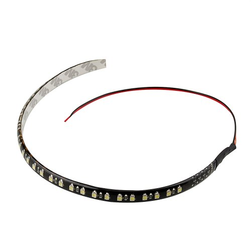 "12"" 3528 32 Smd Mini Led Lamp Flashing Strobe Scanner Scanning Knight Rider Strip Light Lighting For Car Interior Decoration Green"
