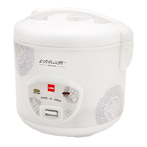 Cello Cook N Serve 100 1.8-Litre Rice Cooker