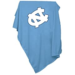 Brand New North Carolina Tar Heels NCAA Sweatshirt Blanket Throw by Things for You