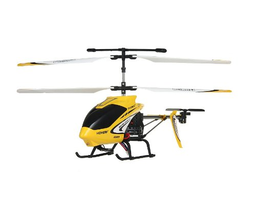 Huanqi 823A 3-Channel RC Helicopter with Gyroscope (Yellow)